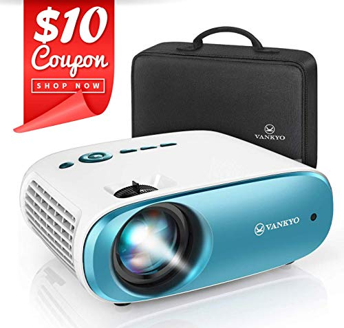 VANKYO Cinemango 100 Mini Video Projector, 4000 Lux HD Movie Projector Support 1080P, 220