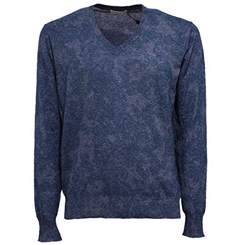 Paisley Man Maglione Etro Blu Cotton Blue 6221y Uomo Sweater zqC0ICPw