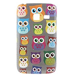 AES - Small Owl Pattern Hard Case for Samsung I6102