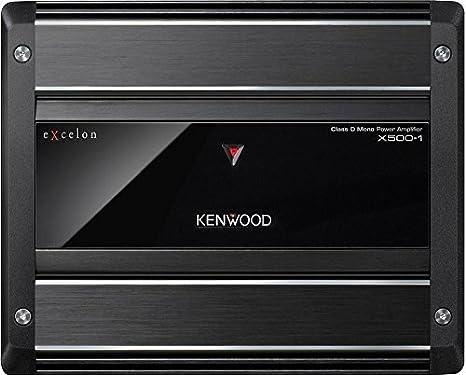 Kenwood eXcelon X500-1 1000 Watts clase D amplificador de Kenwood