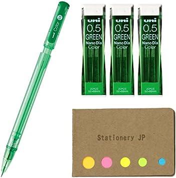 Japanese Stationery uni Color Mechanical Pencils with erasable color lead 0.5 mm 7 color Set