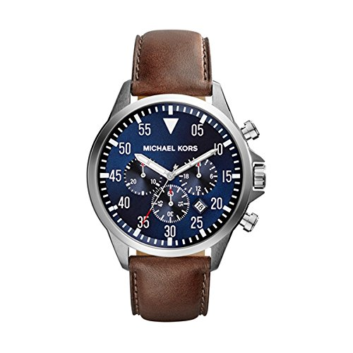 (Michael Kors Watches Gage Chronograph Watch (Brown))