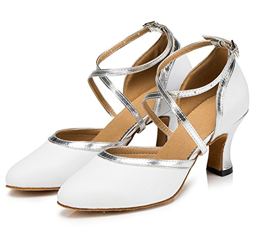TDA - Sandalias con cuña mujer 6cm Heel White