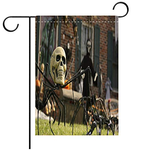 BEICICI Artistically Designed Yard Flags, Double Sided Yard Decorated for Halloween Decorative Deck, Patio, Porch, Balcony Backyard, Garden or Lawn]()