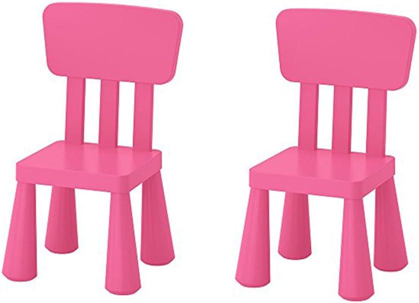 Ikea Mammut - Silla Infantil para Interior y Exterior, Color Rosa ...