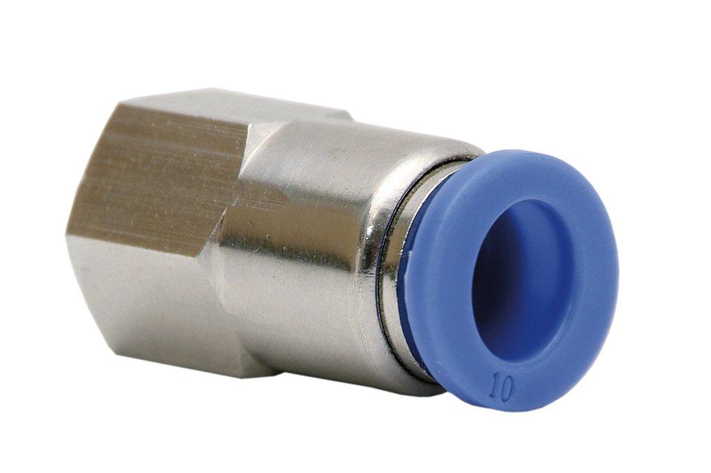 Cofan 05240414 - Racor recto rosca hembra (T-4, R-1/4) Cofan (COFB0)