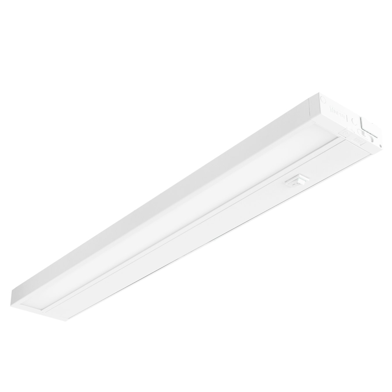 2 Pack LED Under Cabinet Lighting Fixture 14'' White 8 Watts Dimmable 4000K 500L 120V by USA-LED