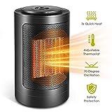 Homemaxs 1200 Watts Ceramic Portable Oscillating Electric Space Heater