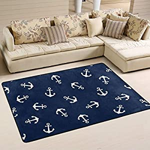 51W2qD7bXtL._SS300_ Best Nautical Rugs and Nautical Area Rugs