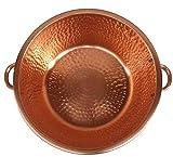 Gold Copper Healthy Medical Foot Warm Water Washing Rub Spa Beauty Salon Massage Pedicure Handles Bowl Body Healing Relaxation