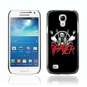 CQ Tech Phone Accessory: Carcasa Trasera Rigida Aluminio PARA Samsung Galaxy S4 Mini i9190 - Slayer Prayer LOL Pope