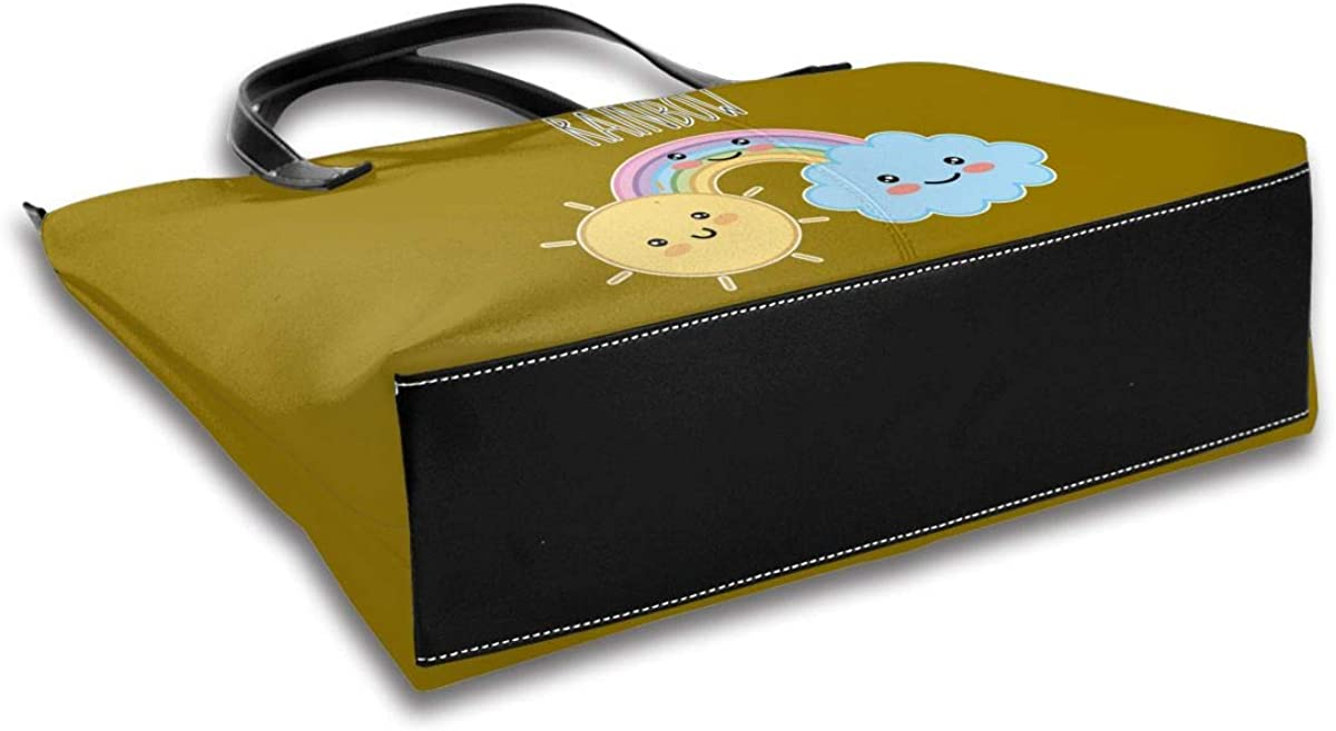Kawaii Cartoon Concept Shoulder Portable Pu Leather Casual Handbag Tote Personalized Ladies Fashion Bag For Women