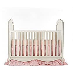 Glenna Jean Maddie Girl's 2 Piece Crib Bedding Starter Set, Pink