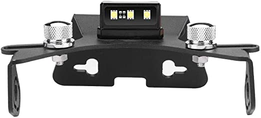 GZYF Motorcycle Fender Eliminator License Plate Holder Bracket W//Led Light Compatible with KAWASAKI ZX-10R 2011-2017
