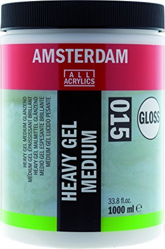 Amsterdam Gel Medium Heavy - Gloss - 1000ml by Amsterdam