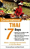 Conversational Thai in 7 Days, Somsong Buasai and David Smyth, 0071432906