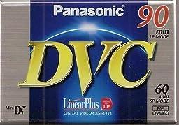 Panasonic Dvm60 Ec Mini Blank Tapes