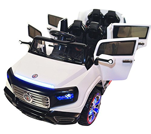 Electric Toy Cars For Girls : Two seater door premium ride on electric toy car for