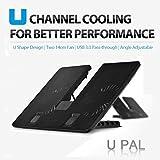 Deepcool U_PAL Laptop Cooling Pad (Black)