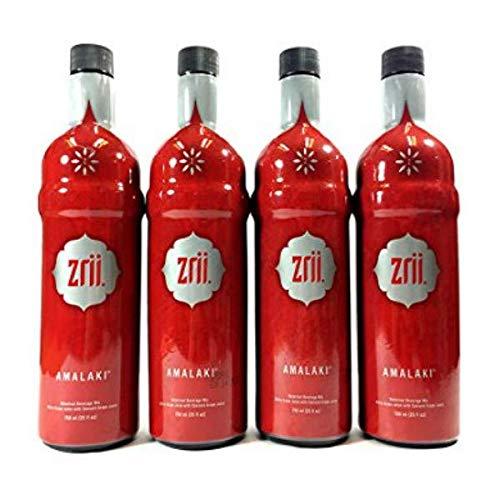 4X Zrii Amalaki Antioxidant-Rich Juice, Ayurveda. 750ml Each Bottle