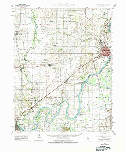Schrodt Wood (YellowMaps Mount Carmel in topo map, 1:62500 Scale, 15 X 15 Minute, Historical, 1959, Updated 1982, 21.6 x 17.9 in - Polypropylene)
