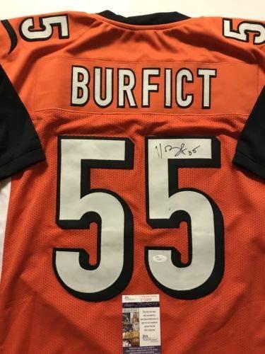 c974911da2b Image Unavailable. Image not available for. Color: Autographed/Signed  Vontaze Burfict Cincinnati Orange Football Jersey JSA COA