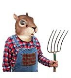 KINGMYS Fantastic Whimsey Costume Party Decoration Latex Mark, Halloween Mask (Squirrel Mask)