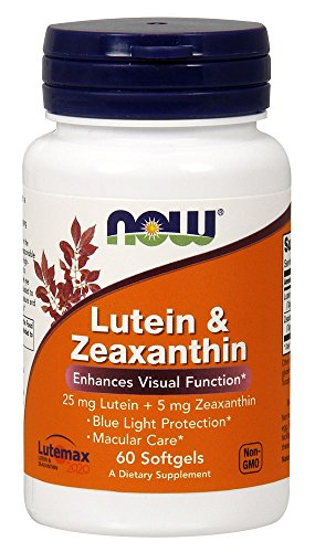 NOW Foods Lutein Zeaxanthin Softgels