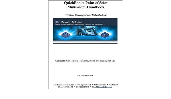 Amazon com: QuickBooks Point of Sale Multi-store Handbook