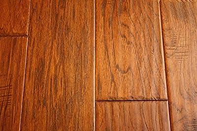 Elk Mountain Hickory Chestnut 5 x 3/8 Hand Scraped Engineered Hardwood Flooring FH230 SAMPLE