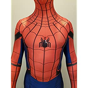 - 51W2ukJld5L - CosplayLife Spider-Man Homecoming Avengers Infinity War Cosplay Costume Iron Spider Suit