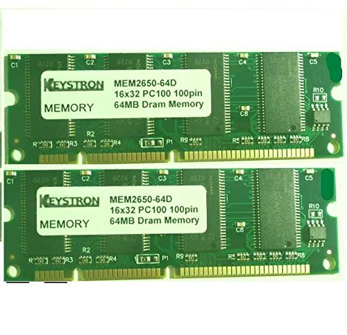 64d 3rd Party Memory - MEM2650-2x64D 128MB (2x64MB) Cisco Systems 2650 2651 Router 3rd party Memory Upgrade (p/n MEM2650-32U128D)
