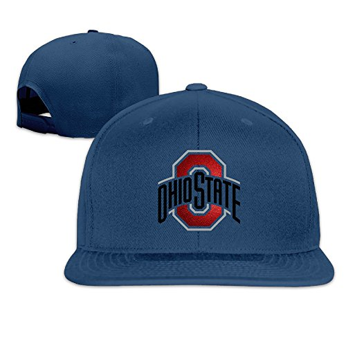 [Custom Unisex-Adult Ohio State University Snapback Baseball Cap Hats Navy] (K-9 Doctor Who Dog Costume)