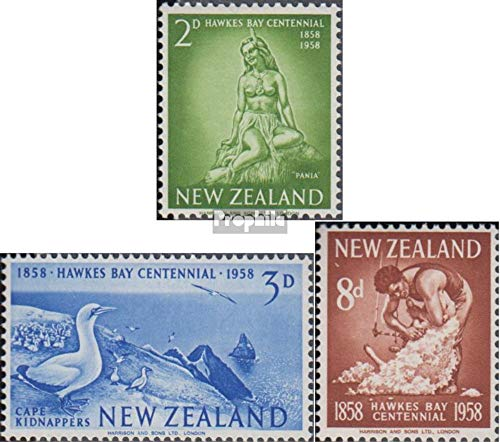 New Zealand Hawkes Bay - New Zealand 378-380 (Complete Issue) 1958 Hawke´S Bay (Stamps for Collectors)