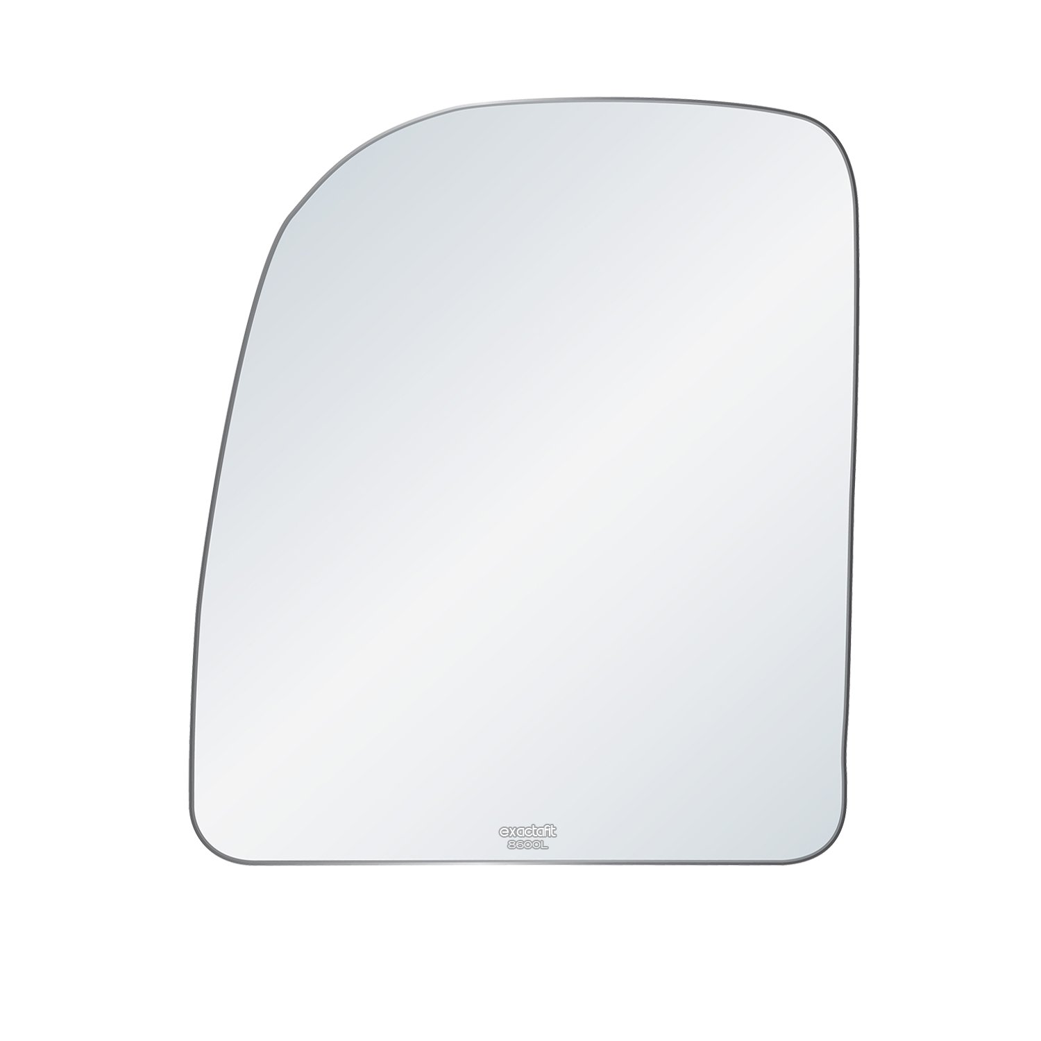 Ford F//E Series Truck Van Driver Side View Mirror Auto Glass Replacement Kit With Adhesive Pad By Rugged TUFF
