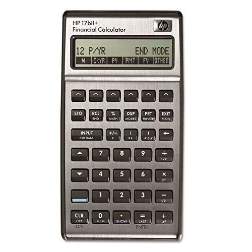 HEW17BIIPLUS - 17bII Financial Calculator (Calculator Financial Hp17bii+)
