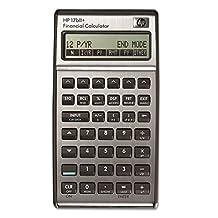 """Hp Business Calculator, 3-2/5""""X5-7/10""""X5/8"""", Built-In Clock"""