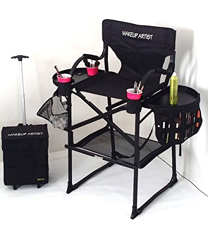 PRESALE----65TTR TUSCANY Pro Makeup Chair-UNIQUE DESIGN---A BONUS MAKEUP CART IS ALSO INCLUDED.----29 SEAT HEIGHT