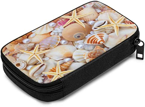 Earbud Case Sea Shells Pouch Sea Shell Coin Purse