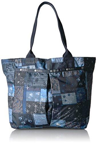 (LeSportsac Classic Everygirl Tote Handbag, Denim Quilt)