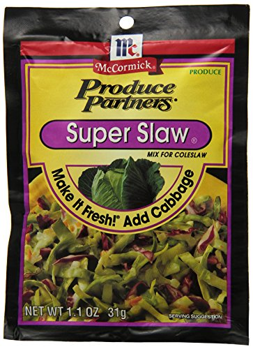 Produce Partners Super Slaw Mix, 1.1-Ounce (Pack of 12)