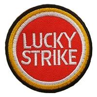Lucky Strike Vintage Suzuki Motorcycles Team Logo PL01 Patches