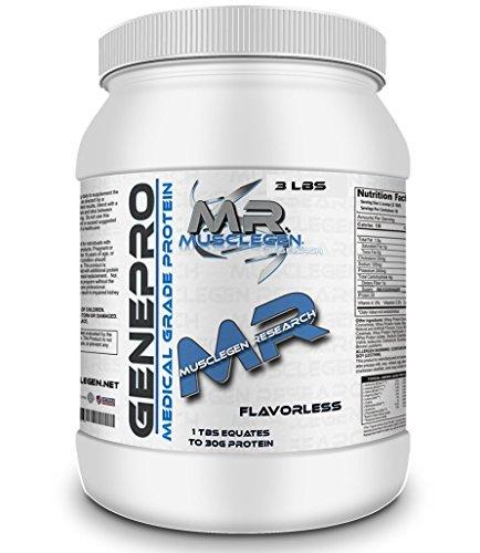 Musclegen Research Genepro Medical Grade Protein Powder - 90 Servings 35.4 OZ by Musclegen Research