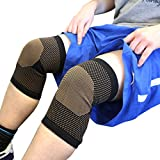 Copper Compression Arthritis Knee Support Sleeve - Cuprix - Copper infused soft bamboo for warmth, support, recovery & compression - Support/Brace/Wrap (Medium, Single)