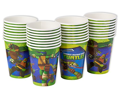 American Greetings Teenage Mutant Ninja Turtles Paper Party Cups, Paper Cups, 32-Count by American Greetings