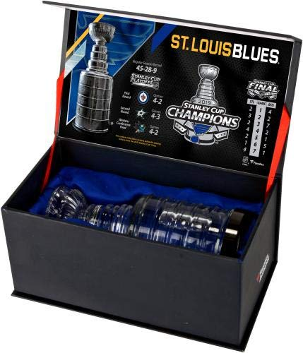 Louis Blues 2019 Stanley Cup Champions Crystal Stanley Cup Fanatics Authentic Certified St Filled with Ice from the 2019 Stanley Cup Final