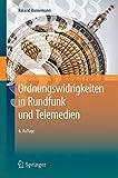 Ordnungswidrigkeiten in Rundfunk und Telemedien (German Edition)