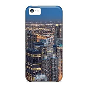 MMZ DIY PHONE CASENew Wonderful Cityscape Hdr Tpu Skin Case Compatible With ipod touch 5