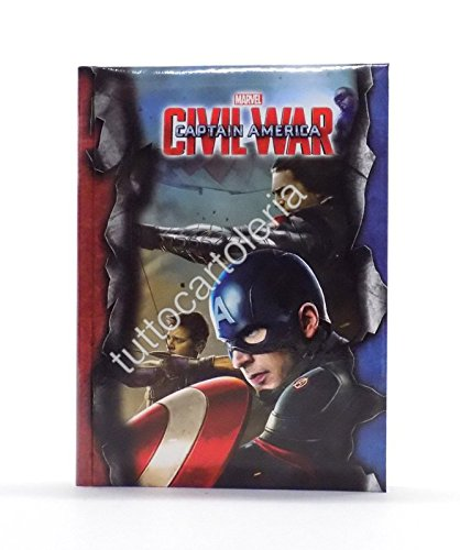 Agenda scolaire Captain America Civil War: Amazon.es ...