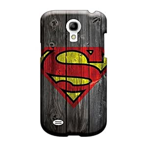 Best Hard Cell-phone Cases For Samsung Galaxy S4 Mini (tqz3567PcMR) Support Personal Customs Fashion Superman Skin